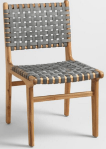 Cost Plus World Market Recalls Girona Outdoor Dining Chairs Due to     SKU Number  536033 Girona grey strap dining chair