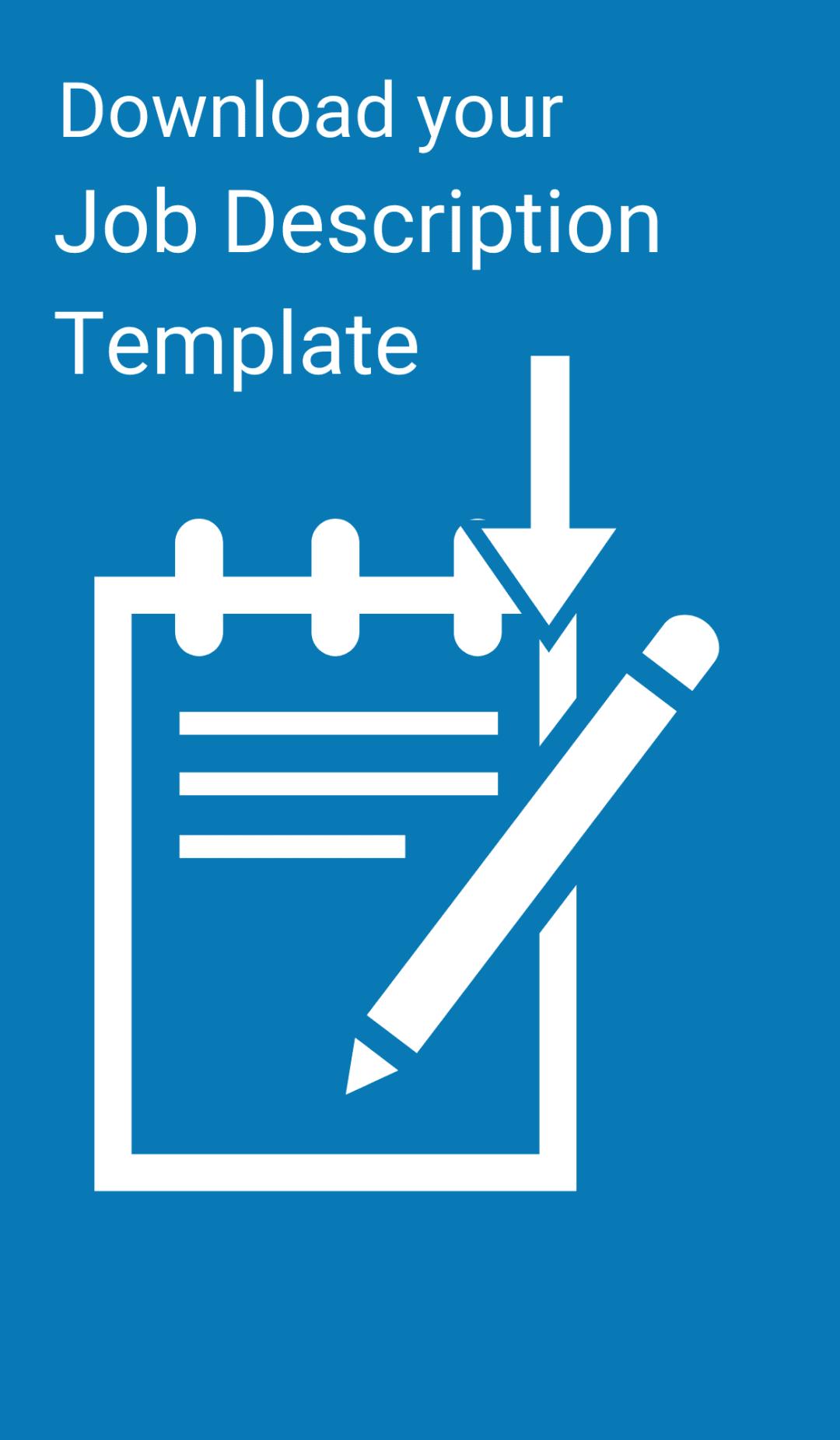 Download Your Job Description Template