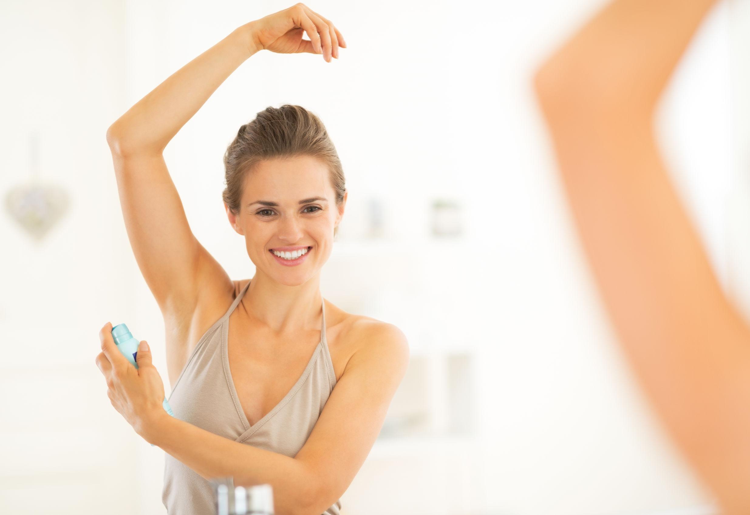 antiperspirant testing