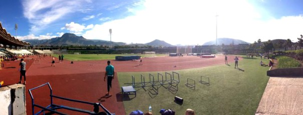 Tenerife training camp panorama