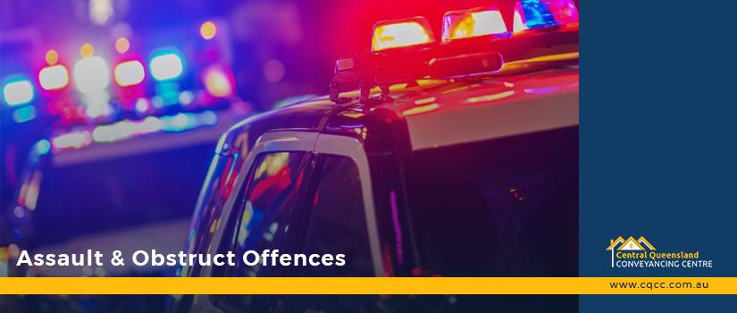 Assault & Obstruct offences