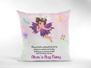 Purple Fairy Hug Cushion