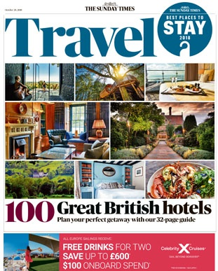 Crab and Lobster voted in top 100 Best British Hotels