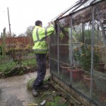 Repairing  the greenhouse