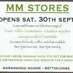 MARSHWOOD MANOR STORES