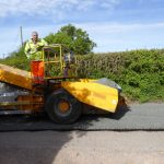 ROAD SURFACING ON BLUNTSHAY LANE