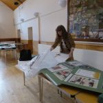 THE WW1 EXHIBITION AT WHITCHURCH VILLAGE HALL