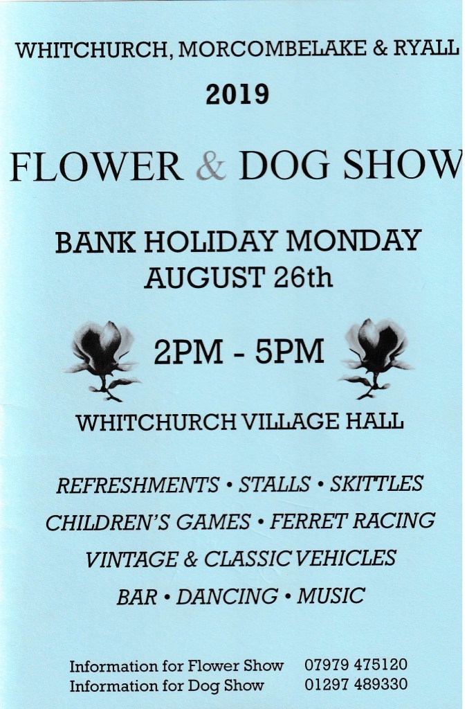 WHITCHURCH FLOWER AND DOG SHOW
