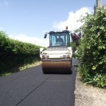 Road plainings