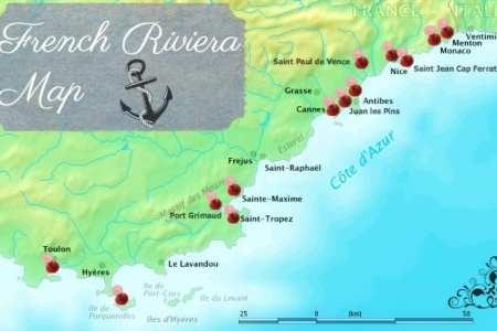 saint jean cap ferrat location on the france map » Another Maps [Get ...