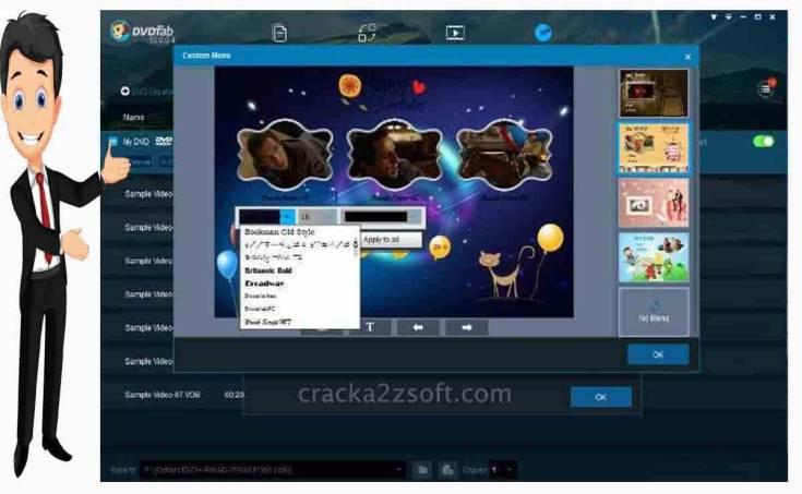 DVDFab screen