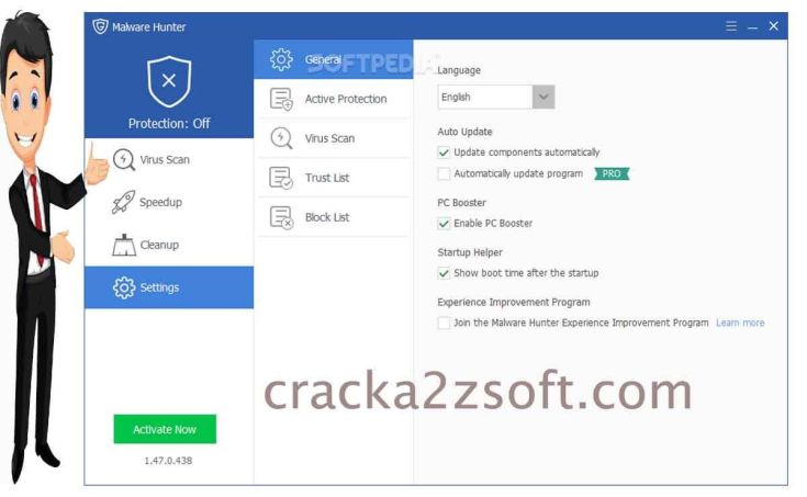 Glary Malware Hunter Pro screen