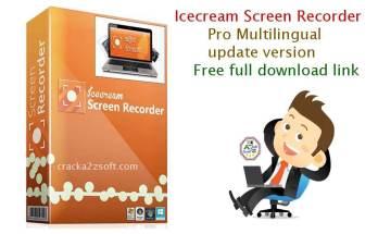 IceCream Screen Recorder Pro