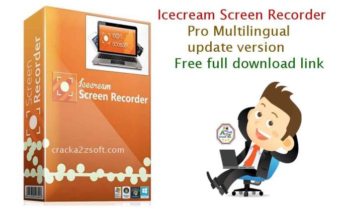 IceCream Screen Recorder Pro serial key