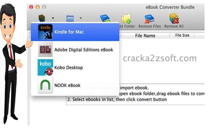 eBook Converter Bundle screen