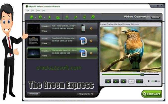 iSkysoft Video Converter Ultimate screen