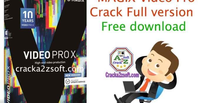 MAGIX Video Pro X11 Crack