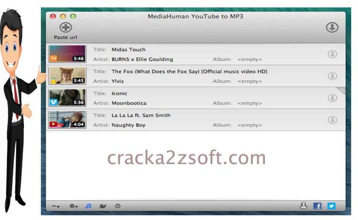 MediaHuman YouTube Downloader screen
