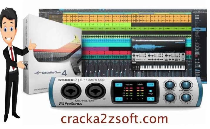 PreSonus Studio One Pro crack screenshot