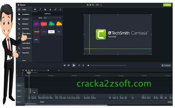 TechSmith Camtasia Crack screenshot