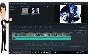 Wondershare Filmora screen