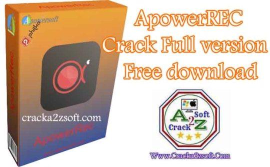 apowerrec crack free download
