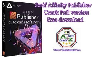 Serif Affinity Publisher crack license key