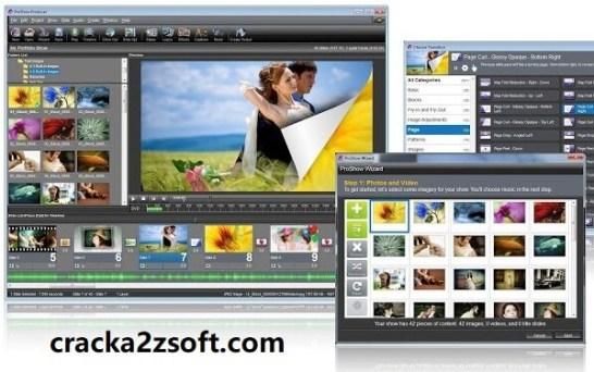 Photodex ProShow Gold Crack screen