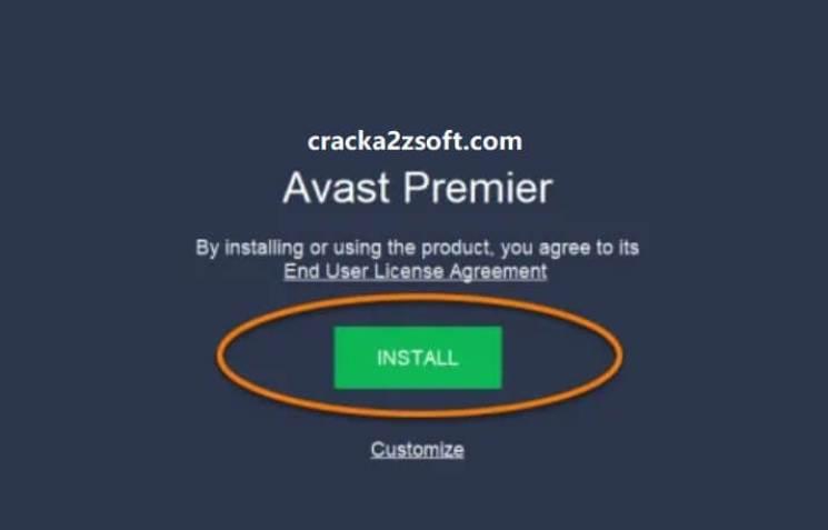 Avast Premier 2021 License key install