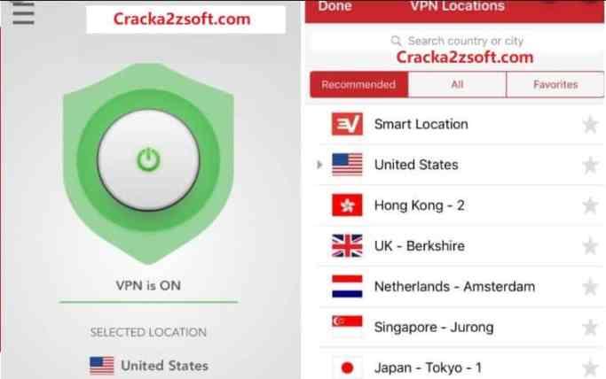 Express VPN Crack 2021 screenshot