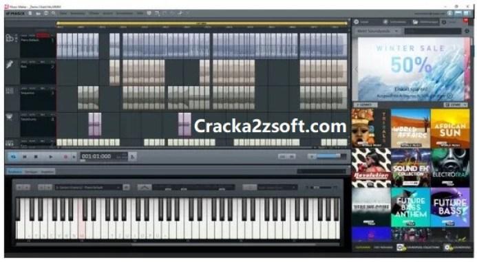 Magix Music Maker 2021 Premium Edition Crack screenshot