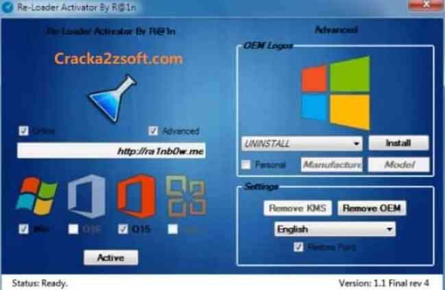 ReLoader Activator 6.6 Crack screenshot