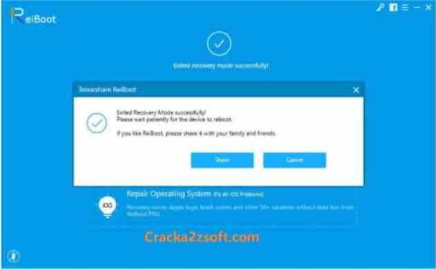ReiBoot Pro Crack 2021 screenshot