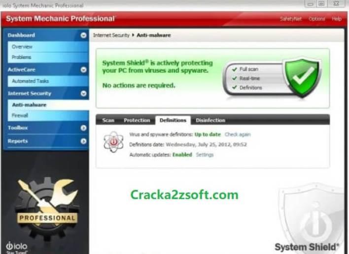 System Mechanic Pro Crack 2021 screenshot