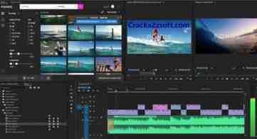Adobe Premiere Rush CC 2021 screenshot