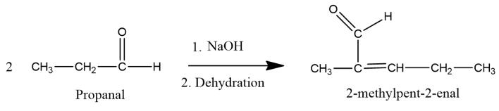 aldol condensation of propanal