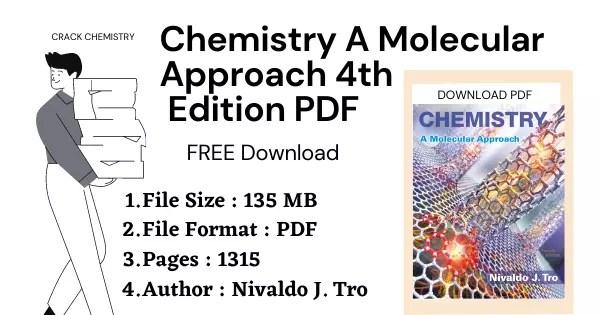 Chemistry A Molecular Approach 4th Edition PDF free download