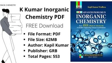 kapil kumar wadhwa inorganic chemistry pdf, k kumar inorganic chemistry pdf
