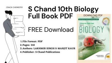 s chand class 10 biology pdf, s chand biology class 10 book pdf free download