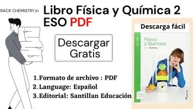 libro física y química 2 eso pdf Descarga gratis