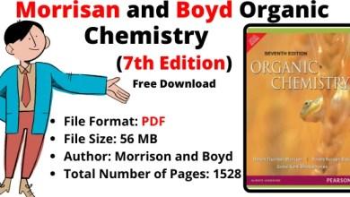 Morrison And Boyd Organic Chemistry 7th Edition PDF, Organic Chemistry Morrison Boyd 7th Edition PDF
