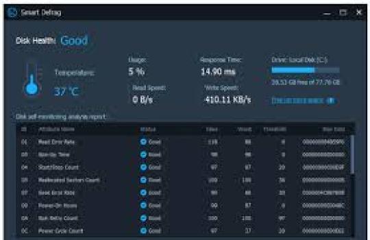 Smart Defrag 6.0.1.116 Crack + Activation Code Free Download