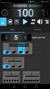 Metronomerous - Beat Screen