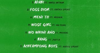 Bosom Pyung - Acheampong Boys EP (Full Album)