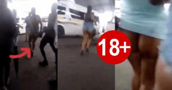 Over 7 Men Hara$$e 2 Ladies In Public