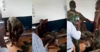 fake soldier arrested