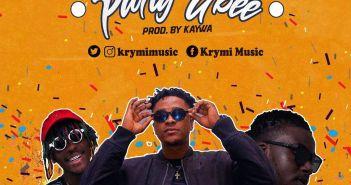 Krymi - Party Gbee ft. Kofi Mole, King Maaga (Prod. by Kaywa)