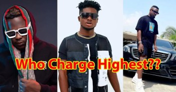 Amount Of Money Ghanaian Musicians Charge For Private Performances