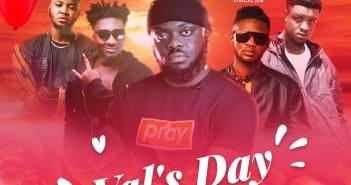 Kwadwo Sheldon - Val's Day Story ft Amerado, Lyrical Joe, Romeo Swag x Kev The Topic