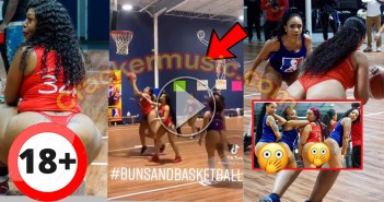Wild Video Of Ladies With Big A$$ Playing Basketball Nak£d Hits Online - [Watch Video]
